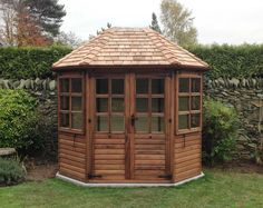 Octagonal Summerhouse - Go to ChineseFurnitureShop.com for even more amazing furniture and home decoration tips!