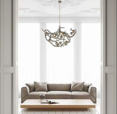 The Eve 120 Round Chandelier has been designed by William Brand, To be human is to aware that there is a force greater than ourselves. From the majestic power of nature, until the longings deep within our soul. With an elegant twist, althoug. Interior Design Shows, Design Blogs, Interior Design Studio, Cool Chandeliers, Round Chandelier, Custom Lighting, Modern Lighting, Lighting Design, Contemporary Chandelier