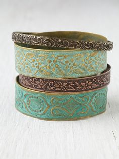 Four Corners Bangles at Free People Clothing Boutique