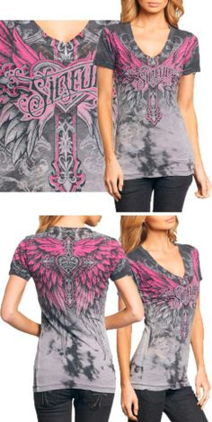 Sinful by Affliction Tee