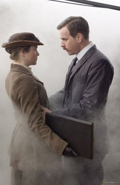 Miss Potter (2006) American actress Renée Zellweger plays the English icon Beatrix Potter, here with Ewan McGregor as love interest, Norman Warne