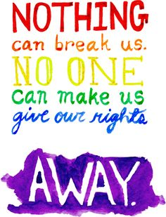 """""""Nothing can break us, no one can make give our rights away."""" –Seize the Day, Newsies. Available on t-shirt!"""