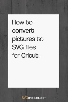 Easily convert your image to SVG in one click with this free online image converter. Convert your PNG to SVG or JPG to SVG for free. Cricut Air 2, Cricut Help, Cricut Vinyl, Cricut Cake, Cricut Explore Projects, Vinyl Projects, Cricut Explore Air, Circuit Projects, Cricut Tutorials