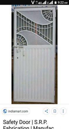 New bedroom design industrial sliding doors 44 Ideas Grill Door Design, Home Window Grill Design, Balcony Grill Design, Roof Truss Design, Door Grill, Deck Design, Front Gate Design, Steel Gate Design, Door Gate Design