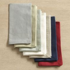 Marseille Set of 4 Linen Napkins | Ballard Designs