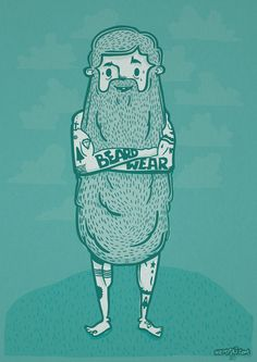 Just Beard Wear Chris Niemyski fb.com/chrisniemyski