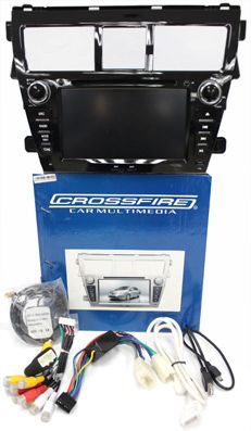 "TOYOTA VIOS 2009-2012 - 7"" LCD with GPS. HC Gold Series. 2 Din All in 1 unit. DVD, Navigation, AM-FM Radio, TV, IPOD, Multimedia Interface, Bluetooth, USB, SD card. Special Price: MYR960.00"
