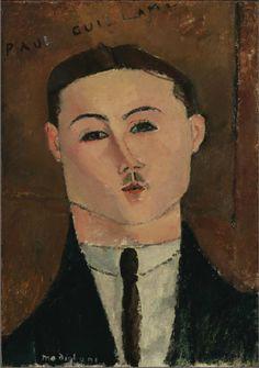 Amedeo Modigliani, Paul Guillaume, 1916 г.