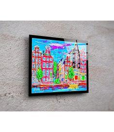 Print on plexiglass Amsterdam PA.008 Amsterdam Souvenirs, Modern Art, Modern Design, Online Painting, Online Gallery, Design Art, Original Paintings, Auction, Art Prints