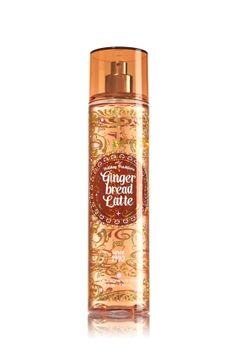 Gingerbread Latte - Fine Fragrance Mist - Signature Collection - Bath & Body Works - Lavishly splash or lightly spritz your favorite fragrance, either way you'll fall in love at first mist! Our carefully crafted bottle and sophisticated pump delivers great coverage while conditioning aloe mist nourishes skin for the lightest, most refreshing way to fragrance!