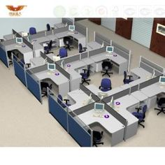 Fsc Forest Certified Approved by SGS Custom Call Center Workstations Economical Call Center Cubicle Corporate Office Design, Office Cubicle Design, Office Cabin Design, Small Office Design, Office Furniture Design, Office Interior Design, Office Interiors, Office Designs, Office Dividers