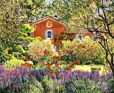 French Countryside House David Lloyd Glover