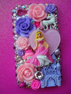 Princess Decoden phone case. This is the most princess phone to ever princess!