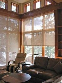 A broad selection of fabrics covers the sun control needs of any application, and includes many colors, weave patterns and textures, as well as fabric openness.