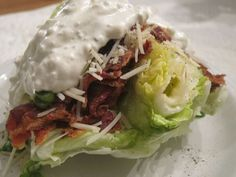 Fancy but Easy Wedge Salad - Women Living Well
