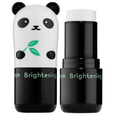 Tony Moly Panda's Dream Brightening Eye Base -A portable eye serum base in a stick, infused with chrysin and brightening peptides to illuminate the look of skin around the eye area. #Sephora