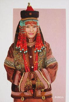 Local fashion: Traditional headdresses of the Mongolian women