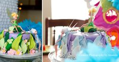 Secret of the Wings - Tinkerbell and Periwinkle Cake