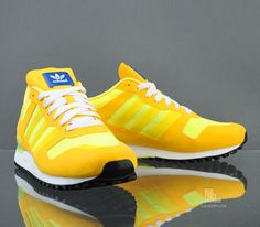 adidas Originals ZX 700-Sunshine-Vivid Yellow-Electricity / Follow My SNEAKERS Board!
