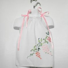 Baby Girl Pillowcase Dress Upcycled Baby Girls by PlanetPlayground, $27.00