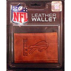 Buffalo Bills NFL Manmade Leather Tri-Fold