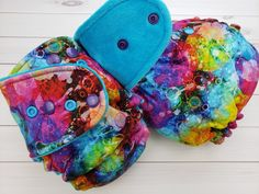 Rainbow Bubbles, Coin Purse, Wallet, Purses, Pocket Wallet, Handbags, Handmade Purses, Wallets, Purses And Handbags