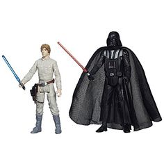 Star Wars Mission Series Figure Set Darth Vader and Luke Skywalker >>> More info could be found at the image url.