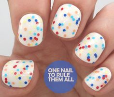 One Nail To Rule Them All: Review Week, Day 4: Models Own Microdots and Hypergel Topcoat Swatches