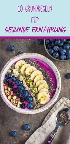 Seid ihr auch ganz verwirrt, wenn es um gesunde Ernährung geht? Wir machen den Neustart.