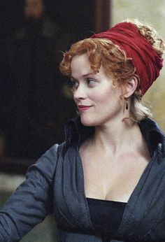 Reese Witherspoon Vanity Fair (2004 film) Simple alternative to bonnets for younger women/ echoes with modern hairbands