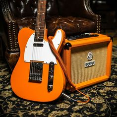 fender offcuts — twanglife: Sweet lil' orange telecaster, obviously...