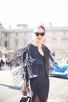 Dress   Street Style París Fashion Week P/V 2015 © Josefina Andrés.