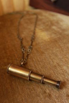 Telescope necklace via icontattoostudio