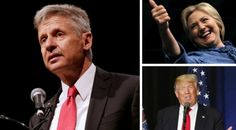 The Libertarian Party Just Gave Up On Winning, Tacitly Endorsed Hillary Over Trump