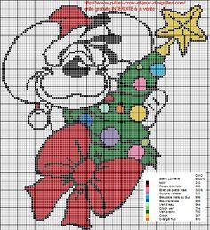 A la demande de Babeth voici Diddl à Noël en grille gratuite.