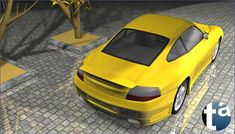 503 - TAEVision 3D MechanicalDesign Automotive Porsche 996 ... Reflections, Lights and Shadows PORSCHE 996 ... Porsche996 (B View Rear-Side) Dr. Ing. h.c. F. Porsche AG