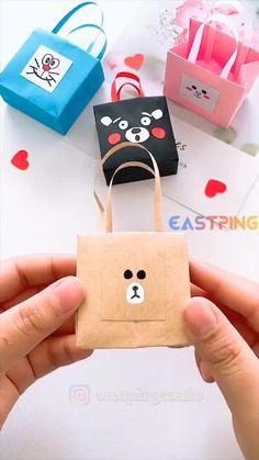 Diy Crafts Hacks, Diy Crafts For Gifts, Diy Crafts Videos, Creative Crafts, Cool Paper Crafts, Paper Crafts Origami, Diy Paper, Fun Crafts, Instruções Origami