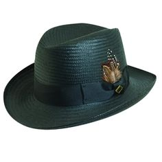 cd349581289 Stacy Adams Men s Wide Brim Hat - Homburg Style - Clothing Connection  Online Wide-brim