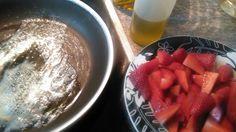 Cocinando a la Familia: Receta de Fresas Guisadas al Ron