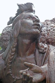 Public Art in Chicago: Jacques Marquette Memorial [By Hermon Atkins MacNeil]