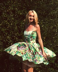 https://www.facebook.com/sekufashion #summerdress #gardenparty #flowerdress #tulledress #dress #greendress #sweetdress