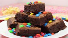 allyfantaisies recette gâteau chocolat brownies brownie mm's