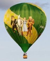 Wizard of OZ - hot air ballon