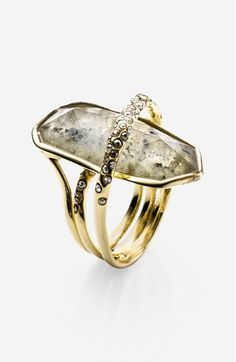 Alexis Bittar 'Miss Havisham' Doublet Ring | Nordstrom. I would love something unique like this as an engagement ring.