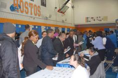 Highly successful NY Works Career Expo at Hostos Community College in the Bronx on Thursday. Congratulations to those newly hired!