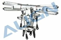 Align New Designed Main Rotor Head Assembly HN7114A by Align. $189.99. ?700 New Designed Main Rotor Head Assembly x 1 ?MF95ZZ Bearings(?5x?9x2.4mm) x 2 ?700N Feathering shaft sleeve(?10.2x?17x21mm) x 2 ?700 Damper rubber-?(?9.9x?17x7mm) x 2 ?700 Damper rubber(?9.9x?17x7mm) x 2 ?Socket screw(M4x24mm) x 1 ?Socket screw(M4x8mm) x 2 ?Metal main rotor holder(72x54x18mm) x 2 ?6800ZZ Bearing(?10x?19x5mm) x 4 ?700 Main Blade Grip Arm x 2 ?683ZZ Bearing(?3x?7x3mm) x 4 ?Collar(?3x?4....