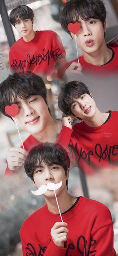 Bts Jin, Bts Taehyung, Bts Bangtan Boy, Seokjin, Hoseok, Foto Bts, Jin Photo, Bts Christmas, Bts Cute