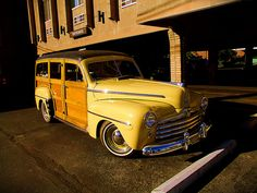 1947 ford woody wagon by donkincl, via Flickr