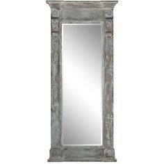 Antoine Floor Mirror ($1,872) ❤ liked on Polyvore featuring home, home decor, mirrors, full length floor mirror, full length standing mirror and full length mirror