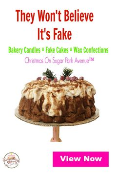 Need unique holiday decor? Fake food with an authentic look and aroma makes the perfect holiday table decor. Hand crafted with detail, every piece has its own character. Nobody will ever know it's fake.  View now or Pin for later.